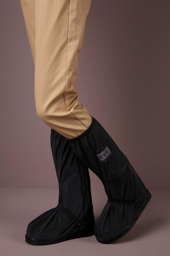 RIVER JUMP Rain Shoe Cover long with strap black M