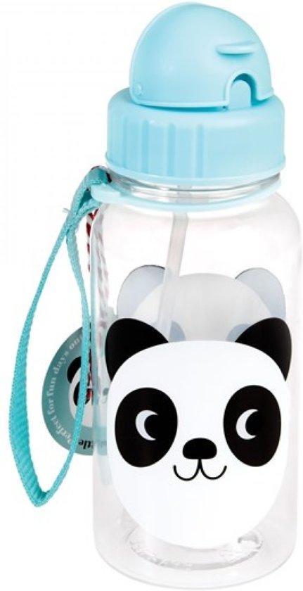 Waterfles - Drinkfles - Rietjesbeker panda