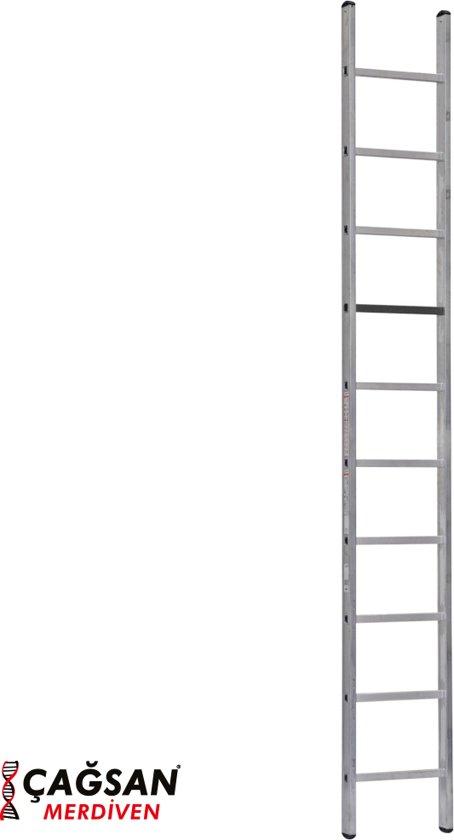 Professionele Enkele Ladder 1x10 treden