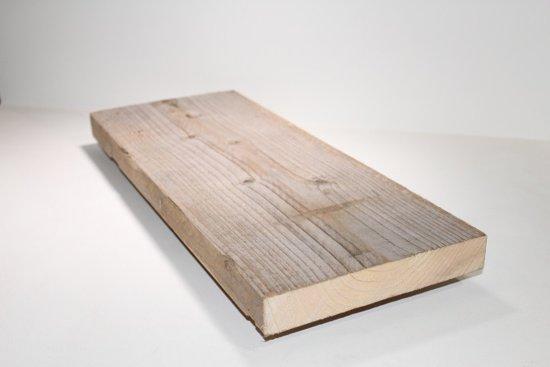 Wandplank 90 Cm Breed.Bol Com Steigerhouten Plank Steigerplank 100cm 2x Geschuurd