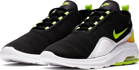 Nike Air Max Motion 2 Sneakers Heren BlackVolt White Total Orange