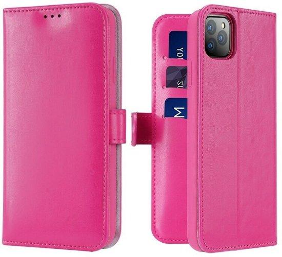 iPhone 11 Pro Max hoesje - Dux Ducis Kado Wallet Case - Roze