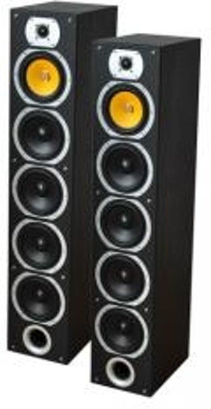LTC Audio V7b-bl 4-weg hifi kolomluidsprekers - zwart