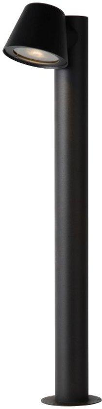 Lucide DINGO-LED - Sokkellamp Buiten - Ø 11,5 cm - LED Dimb. - GU10 - 1x4,5W 3000K - IP44 - Antraciet