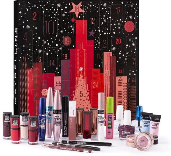 Maybelline Make-up Adventskalender - Met 24 Make-upproducten