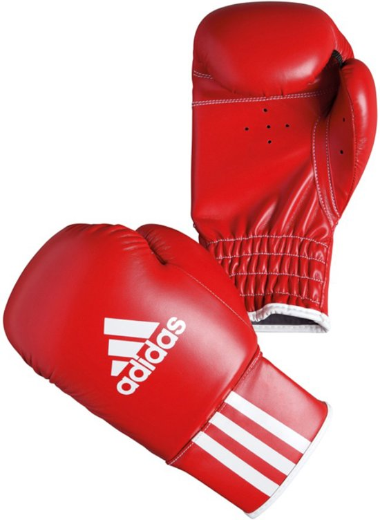 ADIDAS BOXING TRAINING GLOVES ROOKIE 3 - Bokshandschoenen - Kinderen - 8 oz - Rood
