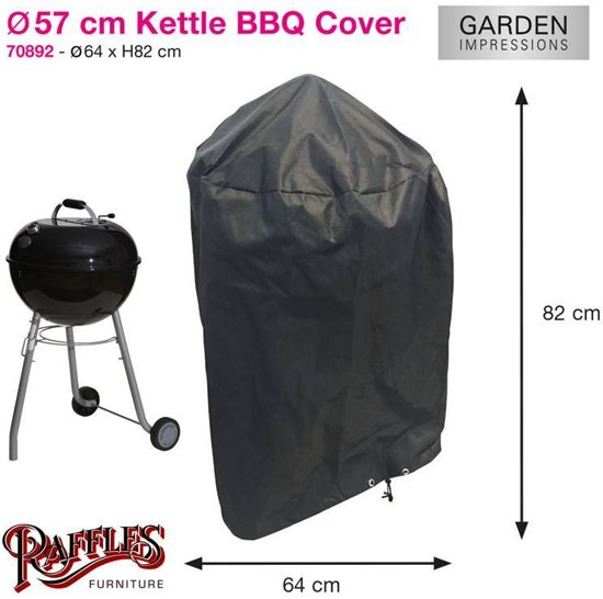 Hoes Voor Bbq.Garden Impressions Coverit Bbq Hoes 57cm O64xh82