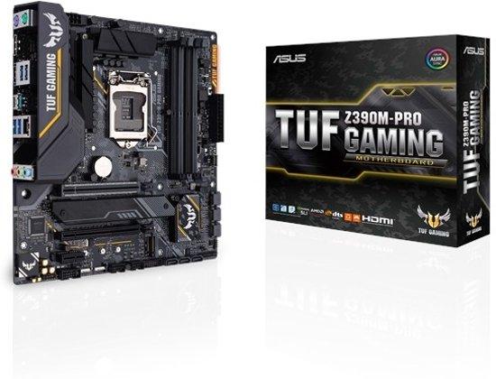 ASUS TUF Z390M-PRO GAMING moederbord LGA 1151 (Socket H4) Micro ATX Intel Z390