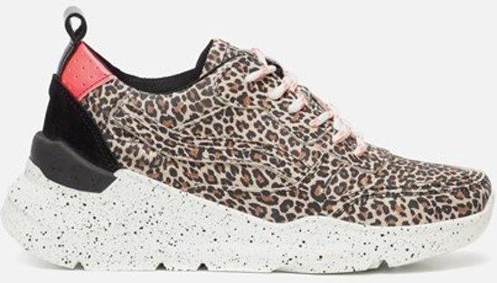 Ann Rocks Sneakers luipaard - Maat 38