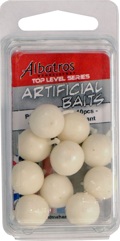 Albatros Top Level Artifial Pop-up Boilie - Wit