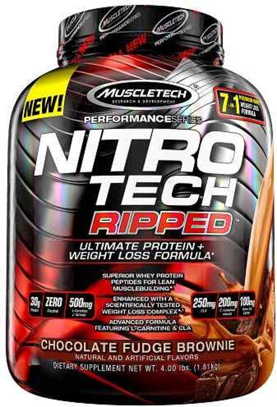 Nitro Tech Ripped 1816gr Chocolade