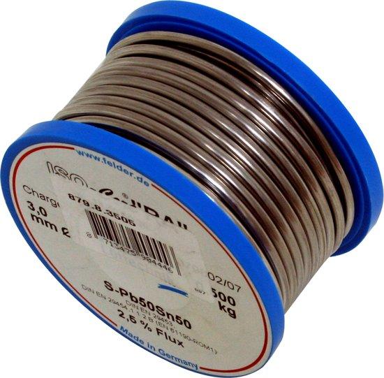 Felder soldeerdraad harskern 40/60 3 mm 500 g