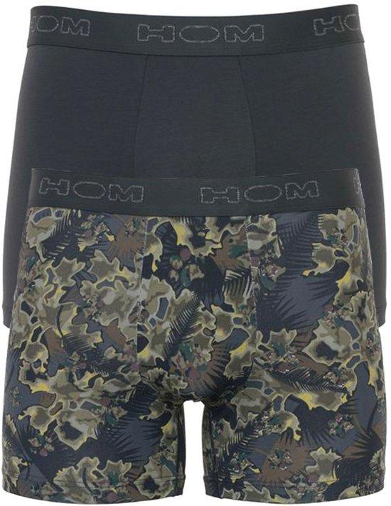 bieten Rabatte starke verpackung moderner Stil HOM - Heren 2-Pack Boxershorts Long Fit Camo Dog Groen - XL