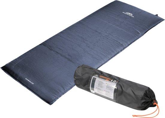 Dutch Mountains - Slaapmat XL zelfopblazend - Dikte 7,5 cm x 205 lengte - Blauw