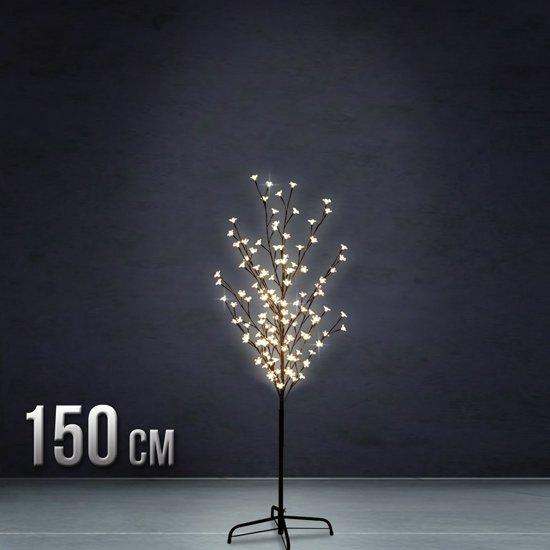 kerstboom kerstbloesem boom verlichting 150cm