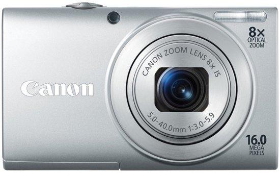 Canon PowerShot A4000 - Zilver