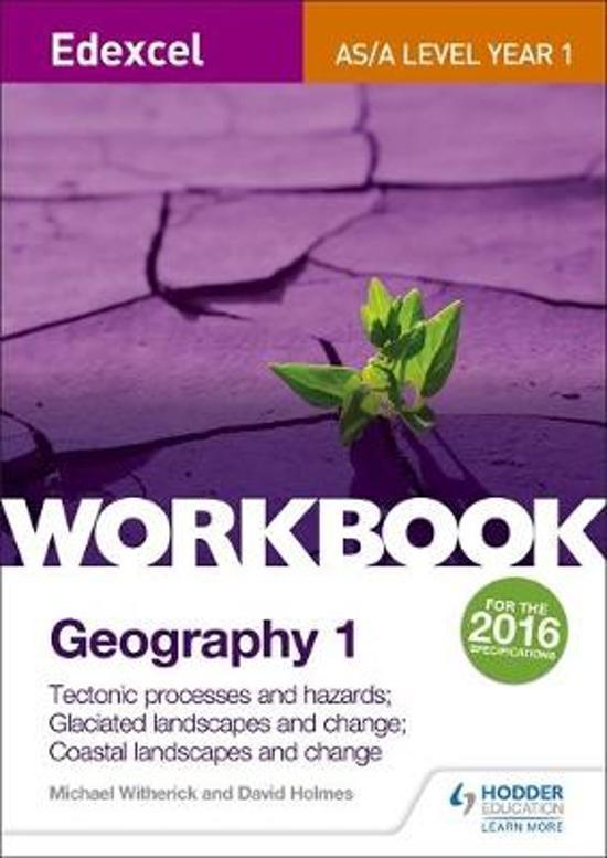 Edexcel AS/A-level Geography Workbook 1