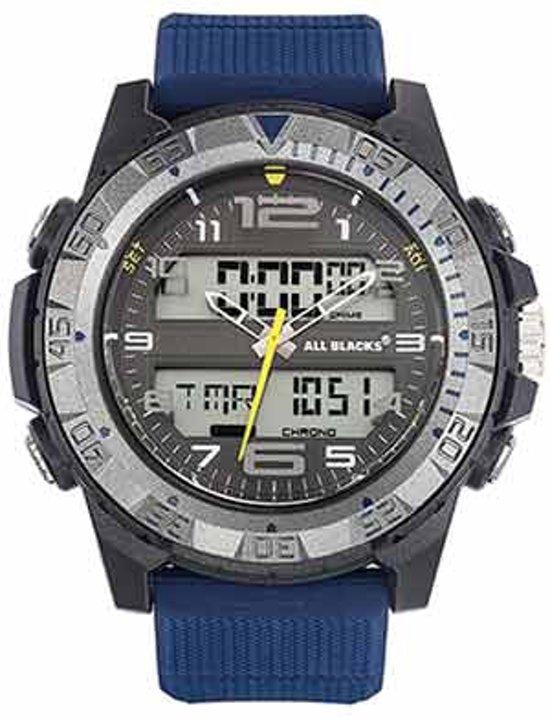 All Blacks 680325 digitaal/ analoog 48 mm 100 meter blauw/ grijs