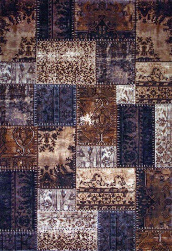 Patchwork Karpet Matrix 9339-75 Beige-80x150 cm