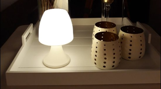 Sfeervolle Led Verlichting : Bol sfeervol led tafellampje inclusief batterijen