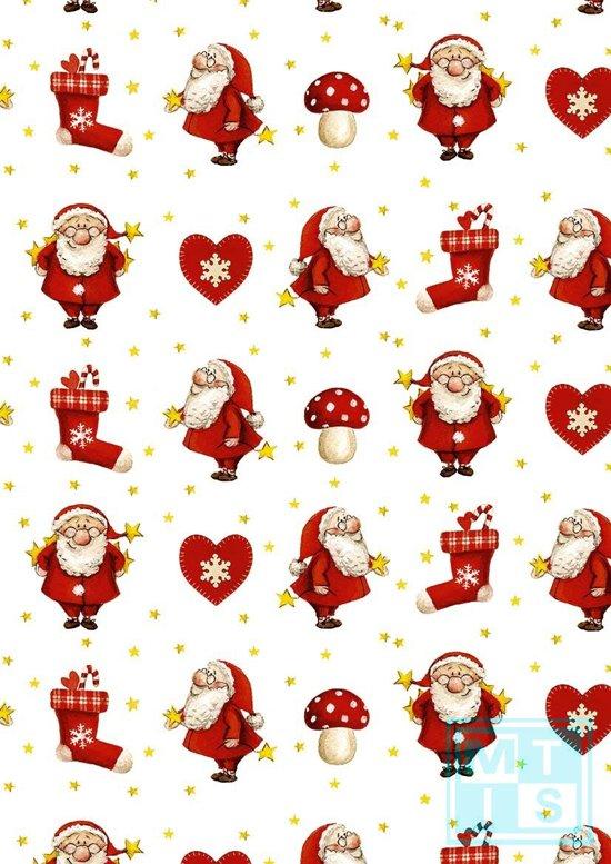Kerstpapier Little Nick K691518 - Toonbankrol breedte 60 (breedte rol) cm - k691518-60cm