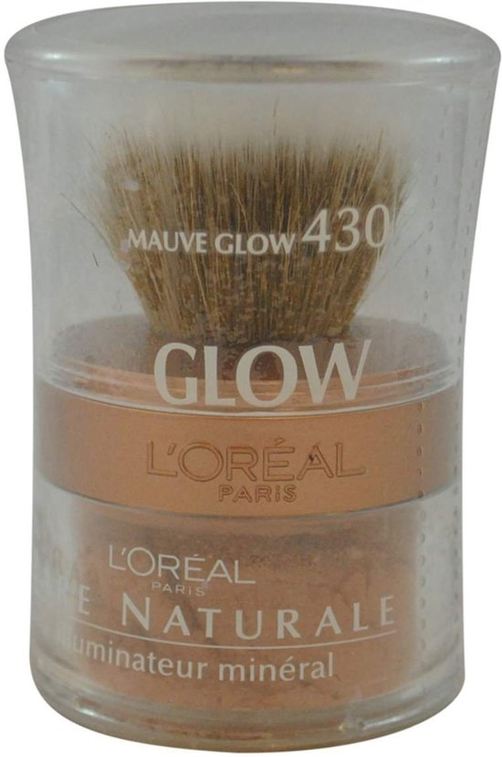 L'OREAL PARIS BARE NATURALE ALL-OVER MINERAL GLOW 430 MAUVE GLOW
