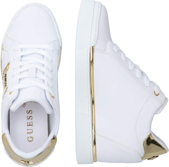 Guess sneakers laag fayne Goud 36
