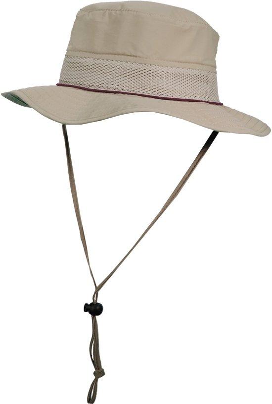 97672a263ca063 Stetson UV beschermende Hoed Heren anti muggen - Paars - Maat 58,5cm