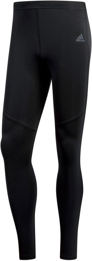 adidas Response Long Tight M Sportlegging Heren - Zwart