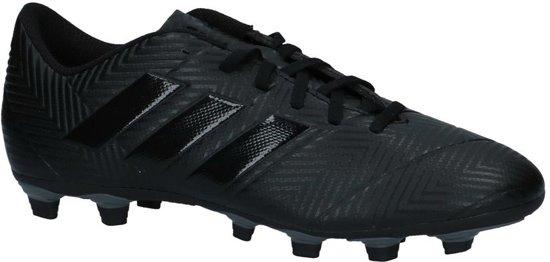 hot sale online 927ad cbcd3 adidas Nemeziz 18.4 Fxg Voetbalschoenen Heren - Core BlackCore BlackFtwr  White -