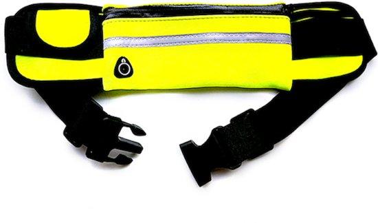 Running belt - Hardloop belt - Hardloop riem - Geel