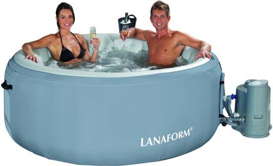 Lanaform Aqua Pleasure Bubbelbad LA 110409 - Opblaasbare Jacuzzi