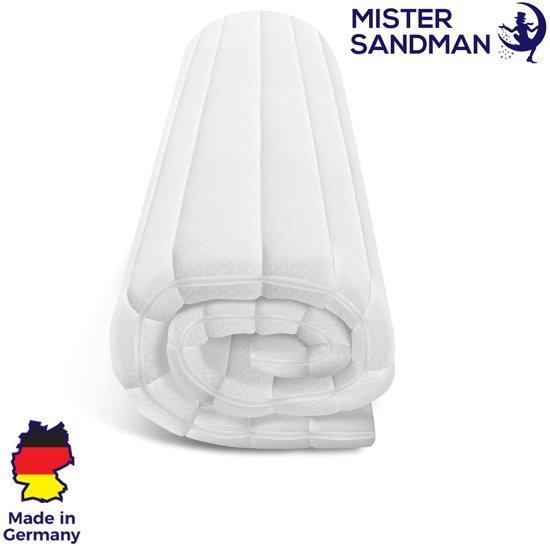 Topdekmatras - 160x200 - koudschuim - premium tijk - 5 cm hoog