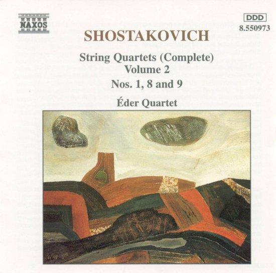 Shostakovich: String Quartets Vol 2 / Eder Quartet