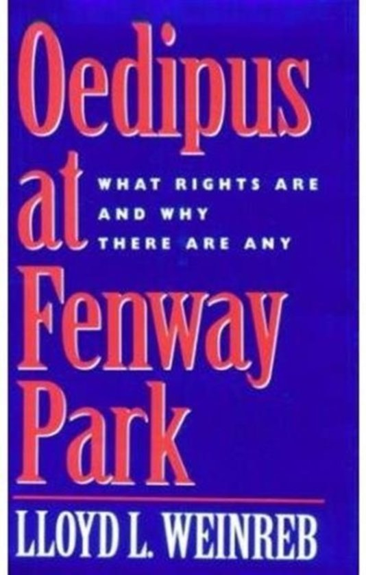 Oedipus at Fenway Park
