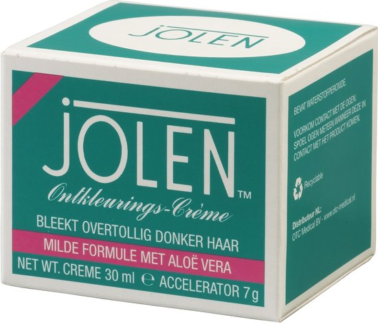 Jolen Creme Bleach Aloe Vera Bodycrème - 30 ml