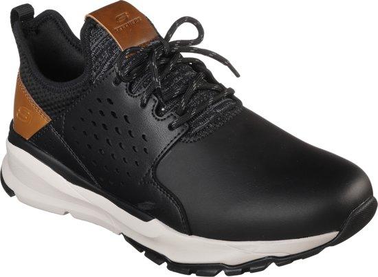 Sneakers Relven Black Skechers Hemson Heren 0FEwTTWSnq