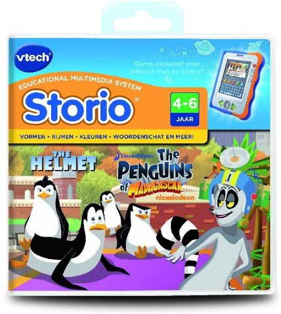 VTech Storio Game - De Pinguïns Van Madagascar