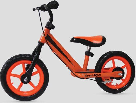 "Loopfiets FreeON - Free 2 Me Balance Bike ""Street Bike"" - Orange"