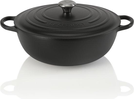 Le Creuset Marmite Braadpan 32 cm Mat Zwart