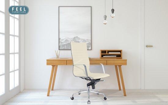 Bol feel furniture luxe executive bureaustoel van