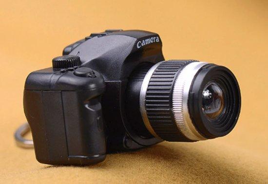 Fotocamera sleutelhanger (met licht en geluid)