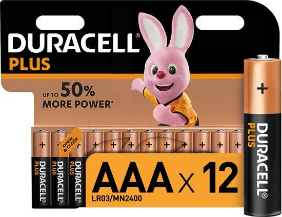 Duracell AAA Plus Power - 12 stuks