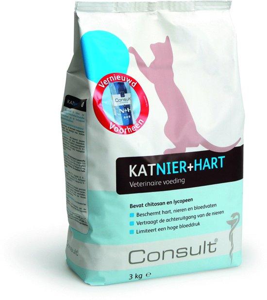Consult Nier en Hart - Vis en Vlees - Kattenvoer - 3 kg