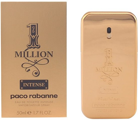 Paco Rabanne 1 Million Intense 50 ml - Eau de toilette - for Men