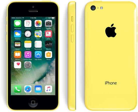 Apple iPhone 5C refurbished door 2ND - 16 GB - Geel in Haine-Saint-Paul