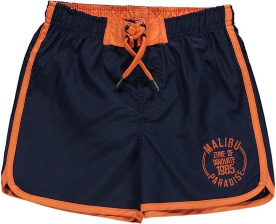 Zwembroek Short.Bol Com Losan Jongens Zwembroek Short Navy Met Oranje Maat 176
