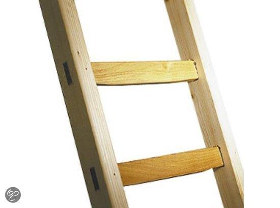 Bedwelming bol.com | Ladder enkel hout lengte 3.30m 12-Sporten #TU26