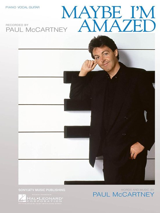 Bol Maybe Im Amazed Sheet Music Ebook Paul Mccartney