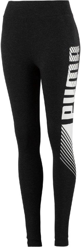 PUMA Ess+ Graphic Sportlegging Dames - Dark Gray Heather